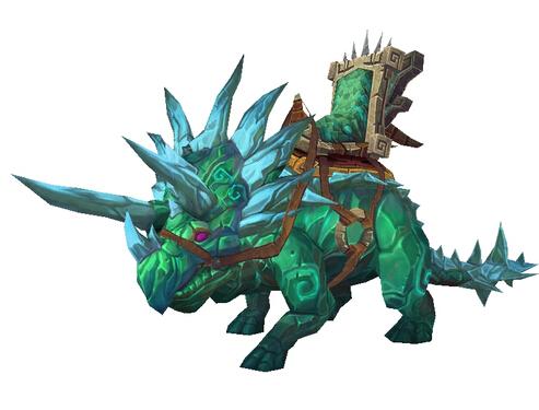 翡翠原始恐角龙_World Of Warcraft US物品 - 骡子游戏